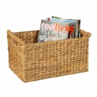 WWB-13017-Water Hyacinth Storage Basket