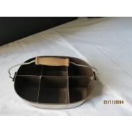 ZCB12 - Zinc Bucket with handle