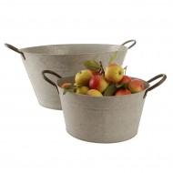 ZP206 - Oval Zinc Bucket
